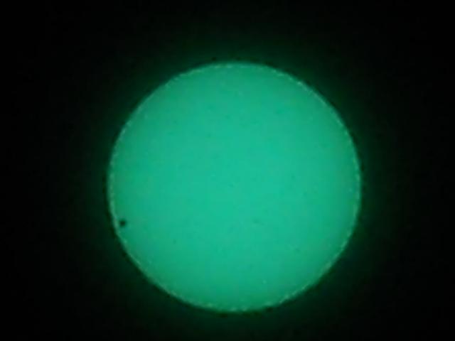 2012年6月6日金星の日面通過