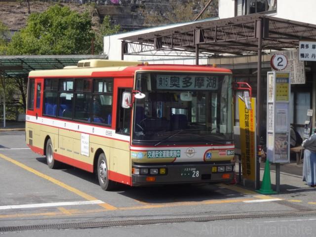 okutama-nishi-tokyo-bus