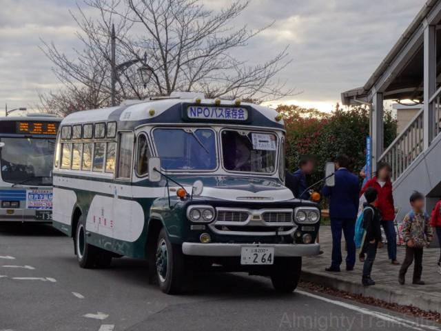 mitsukaido-bonnnet-bus