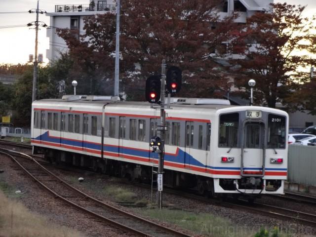 mitsukaido-train