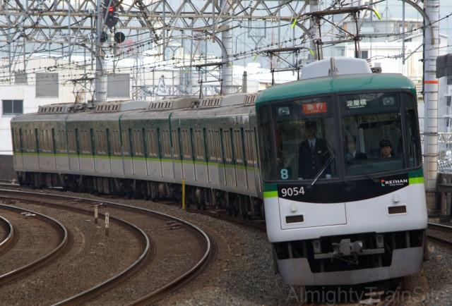 京阪の中では9000系が一番好き