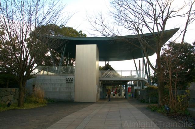 京阪坂本駅 駅舎
