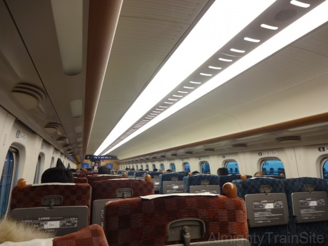 shinkansen-inside