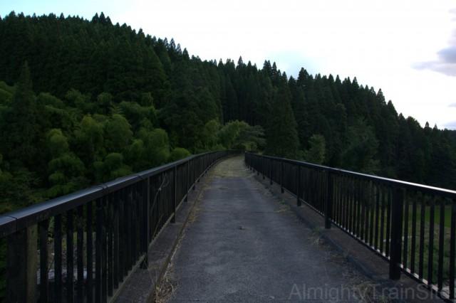 柵が新設され、遊歩道として活躍中