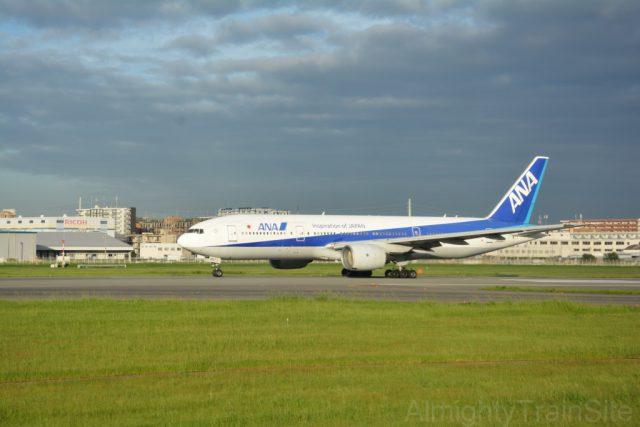 機内から撮る飛行機